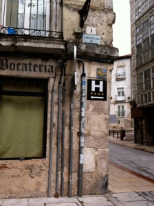 Camino sign in Leon