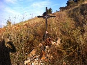 Grave along the Camino