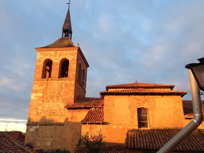 View from room in Mansilla de las Mulas